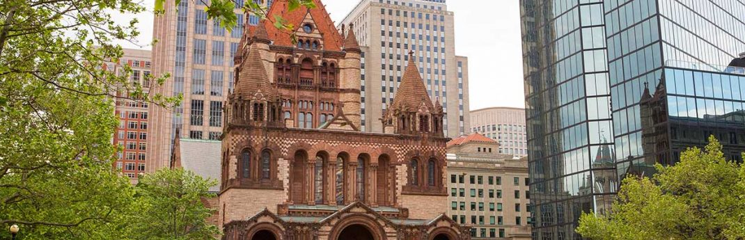Trinity Church in the City of Boston